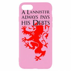 Чехол для iPhone 7 A Lannister always pays his debts - FatLine