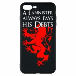 Чехол для iPhone 7 Plus A Lannister always pays his debts - FatLine