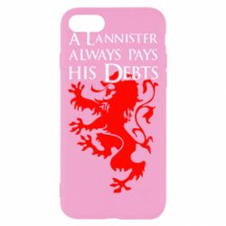 Чехол для iPhone 8 A Lannister always pays his debts - FatLine