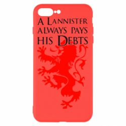 Чехол для iPhone 8 Plus A Lannister always pays his debts - FatLine