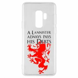 Чехол для Samsung S9+ A Lannister always pays his debts - FatLine