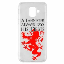 Чехол для Samsung A6 2018 A Lannister always pays his debts - FatLine