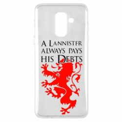 Чехол для Samsung A6+ 2018 A Lannister always pays his debts - FatLine