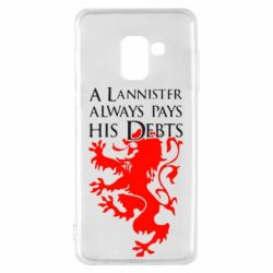 Чехол для Samsung A8 2018 A Lannister always pays his debts - FatLine