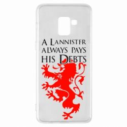 Чехол для Samsung A8+ 2018 A Lannister always pays his debts - FatLine