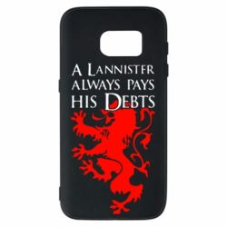 Чехол для Samsung S7 A Lannister always pays his debts - FatLine