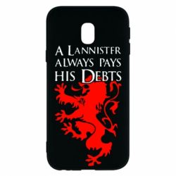 Чехол для Samsung J3 2017 A Lannister always pays his debts - FatLine