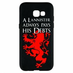 Чехол для Samsung A5 2017 A Lannister always pays his debts - FatLine