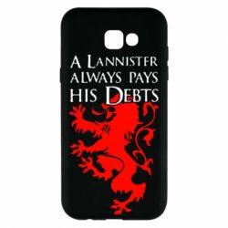 Чехол для Samsung A7 2017 A Lannister always pays his debts - FatLine