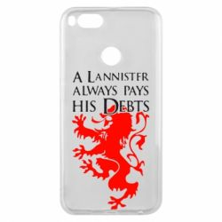 Чехол для Xiaomi Mi A1 A Lannister always pays his debts - FatLine