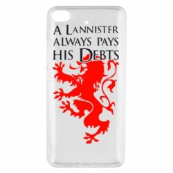 Чехол для Xiaomi Mi 5s A Lannister always pays his debts - FatLine