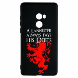 Чехол для Xiaomi Mi Mix 2 A Lannister always pays his debts - FatLine