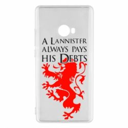 Чехол для Xiaomi Mi Note 2 A Lannister always pays his debts - FatLine