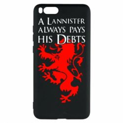 Чехол для Xiaomi Mi Note 3 A Lannister always pays his debts - FatLine