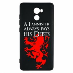 Чехол для Xiaomi Redmi 4 A Lannister always pays his debts - FatLine