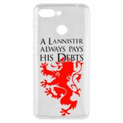 Чехол для Xiaomi Redmi 6 A Lannister always pays his debts - FatLine