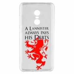 Чехол для Xiaomi Redmi Note 4 A Lannister always pays his debts - FatLine