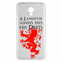 Чехол для Meizu M5c A Lannister always pays his debts - FatLine