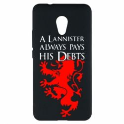 Чехол для Meizu M5s A Lannister always pays his debts - FatLine