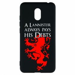 Чехол для Meizu M6 A Lannister always pays his debts - FatLine