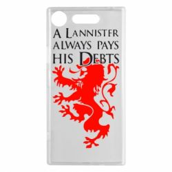 Чехол для Sony Xperia XZ1 A Lannister always pays his debts - FatLine