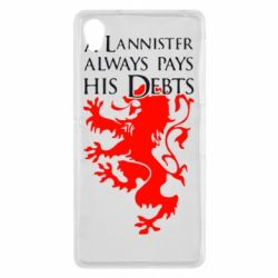 Чехол для Sony Xperia Z2 A Lannister always pays his debts - FatLine