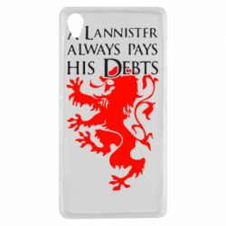 Чехол для Sony Xperia Z3 A Lannister always pays his debts - FatLine