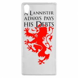 Чехол для Sony Xperia Z5 A Lannister always pays his debts - FatLine