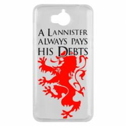 Чехол для Huawei Y5 2017 A Lannister always pays his debts - FatLine