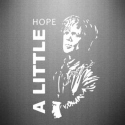 Наклейка A little Hope - FatLine