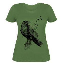 Жіноча футболка A pack of ravens