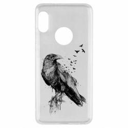Чохол для Xiaomi Redmi Note 5 A pack of ravens