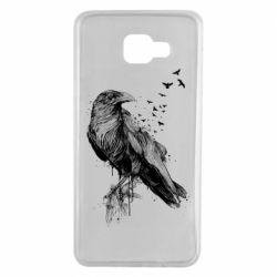 Чохол для Samsung A7 2016 A pack of ravens