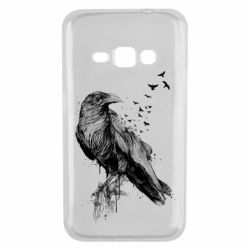 Чохол для Samsung J1 2016 A pack of ravens