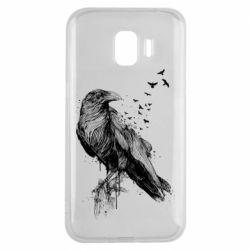 Чохол для Samsung J2 2018 A pack of ravens