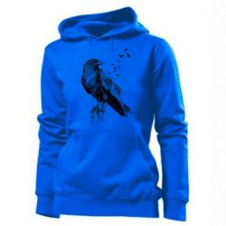 Толстовка жіноча A pack of ravens