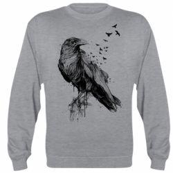 Реглан (світшот) A pack of ravens
