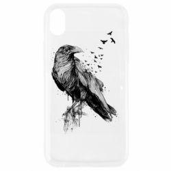 Чохол для iPhone XR A pack of ravens