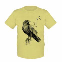 Дитяча футболка A pack of ravens