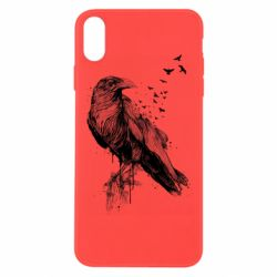 Чохол для iPhone Xs Max A pack of ravens