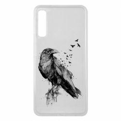 Чохол для Samsung A7 2018 A pack of ravens