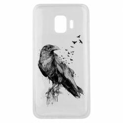 Чохол для Samsung J2 Core A pack of ravens