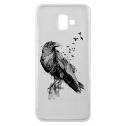 Чохол для Samsung J6 Plus 2018 A pack of ravens