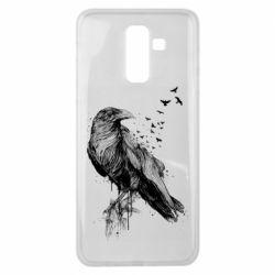 Чохол для Samsung J8 2018 A pack of ravens