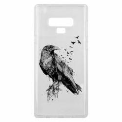 Чохол для Samsung Note 9 A pack of ravens