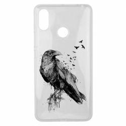 Чохол для Xiaomi Mi Max 3 A pack of ravens