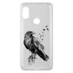 Чохол для Xiaomi Redmi Note Pro 6 A pack of ravens