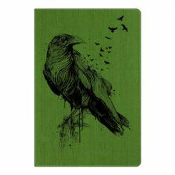 Блокнот А5 A pack of ravens