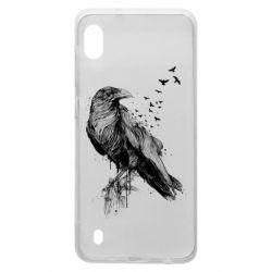 Чохол для Samsung A10 A pack of ravens