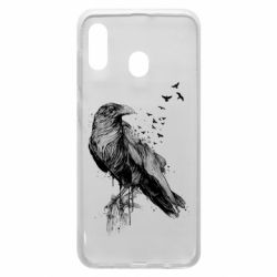 Чохол для Samsung A20 A pack of ravens